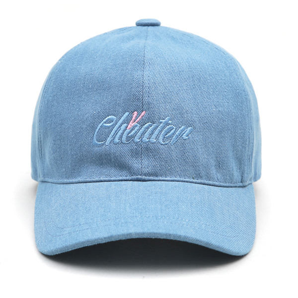 VIBRATE - ITALIC BALL CAP (light denim)