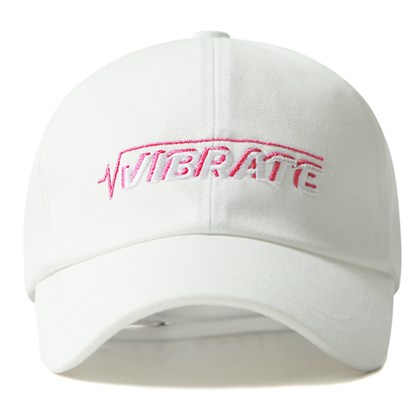 VIBRATE - REVOLUTION BALL CAP (white)