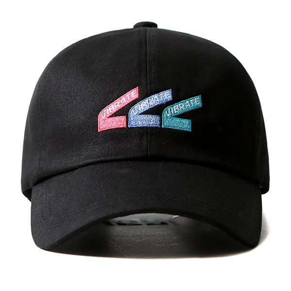 VIBRATE - TRIPLE V BALL CAP (black)