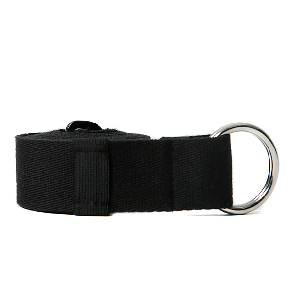 V8 - BASIC LOGO BELT (BLACK)