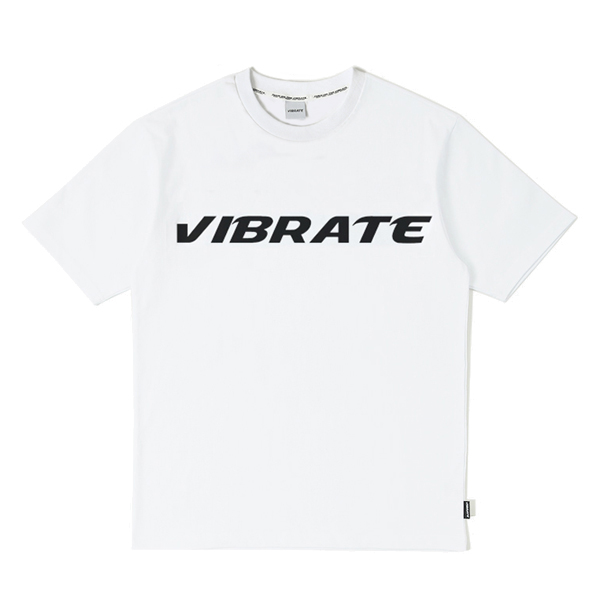 VIBRATE - FULL LOGO T-SHIRT (white)
