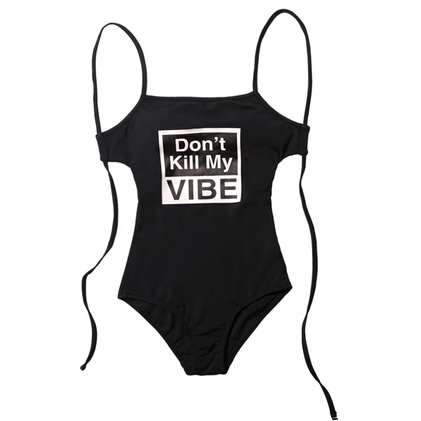 VIBRATE - D.K.M.V SWIM SUIT (woman) (BLACK)