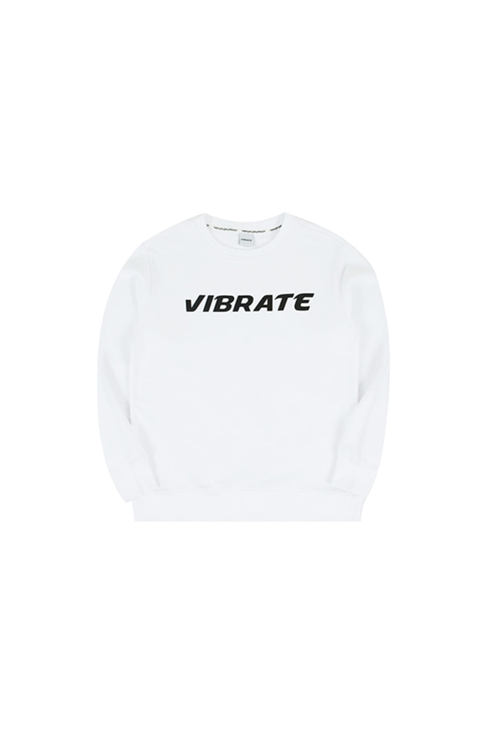 BASIC LOGO SWEAT SHIRT (white)