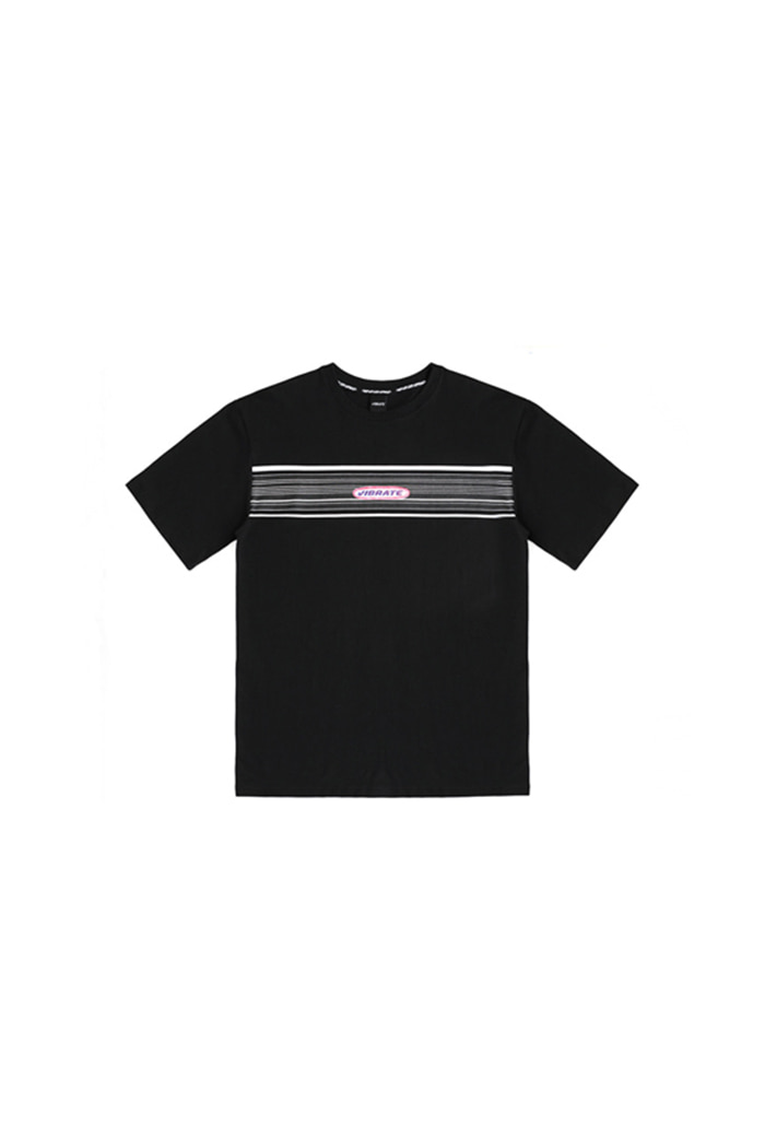 ROUND LOGO T-SHIRT (BLACK)