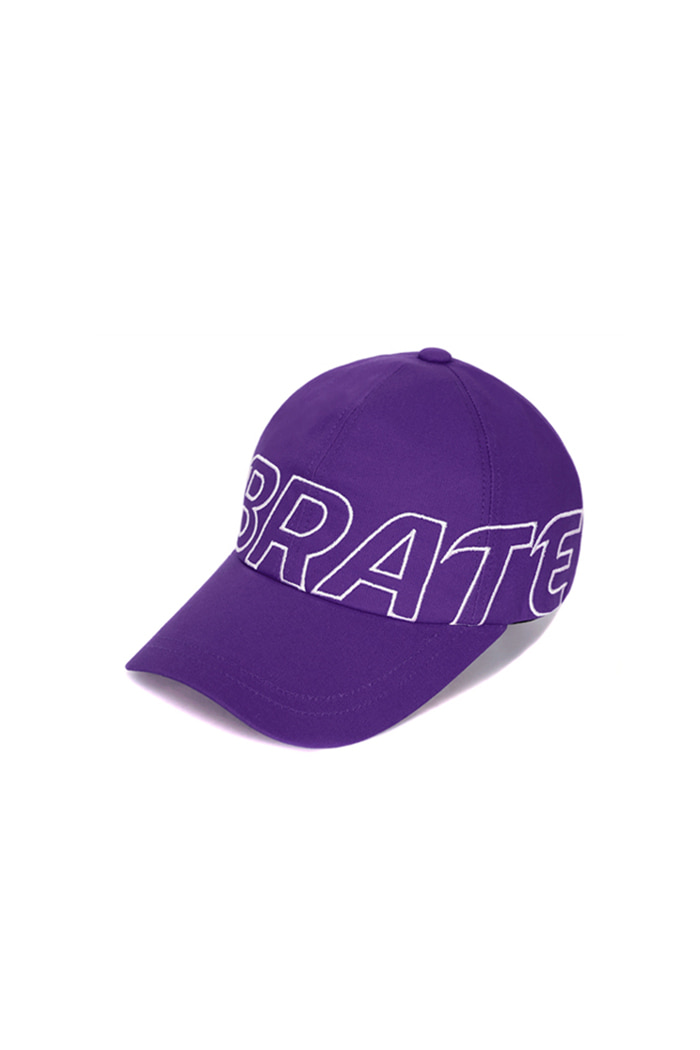 BASIC BIG LOGO BALL CAP (PURPLE)