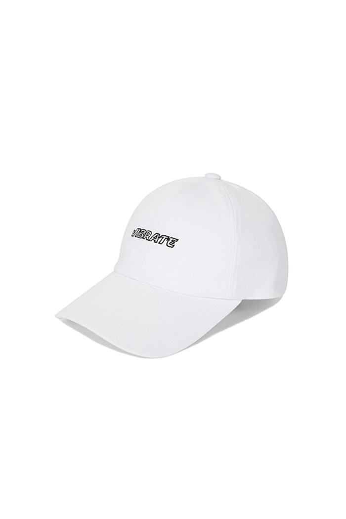 EMPTIED LOGO BALL CAP (WHITE)