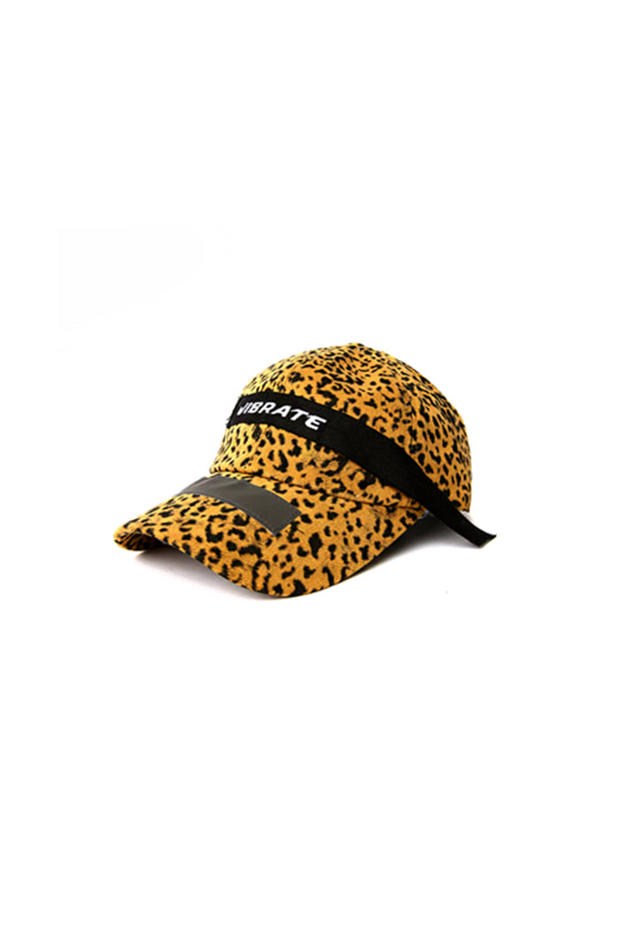 LEOPARD PATCH BALL CAP