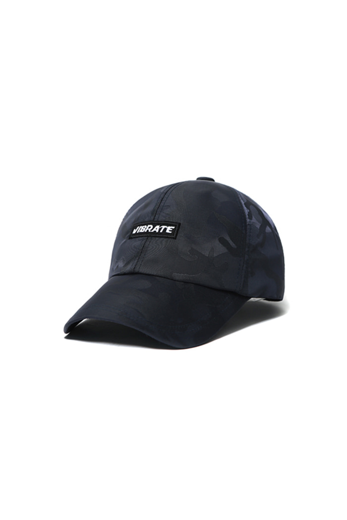 S SIGNATURE CAMO BALL CAP (NAVY)