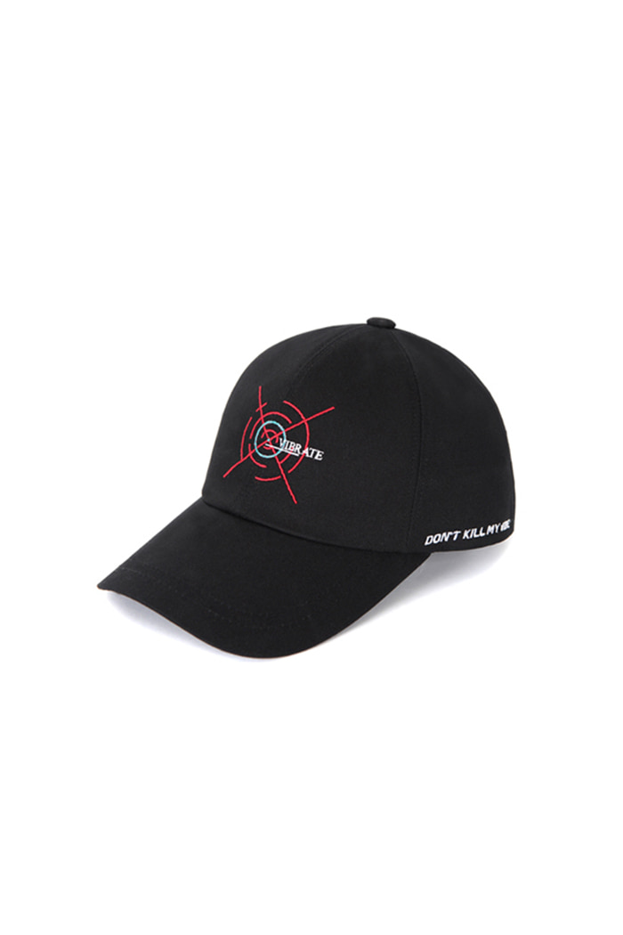 AIM ON BALL CAP (BLACK)