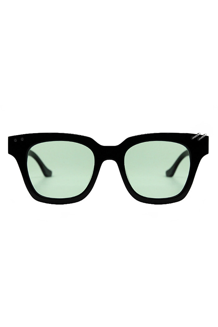 ALO X VIBRATETWIN RING SUNGLASSES (GREEN)