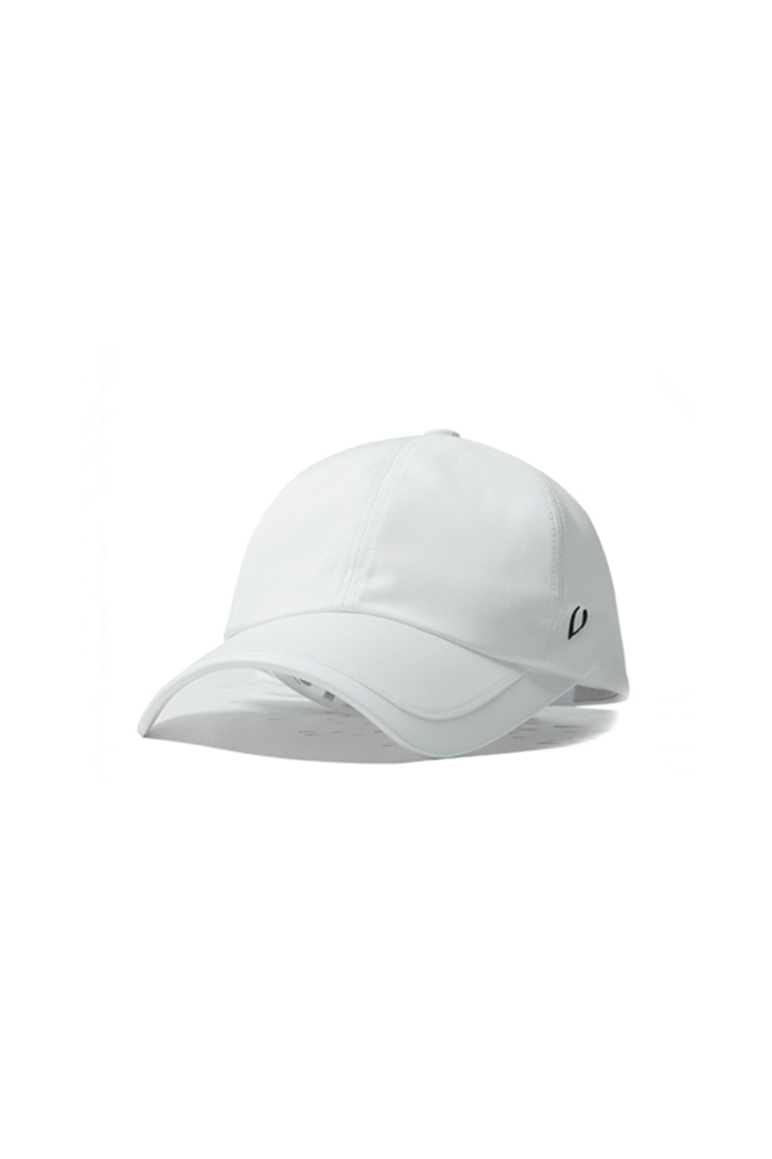 FACE VISOR BALL CAP (WHITE)