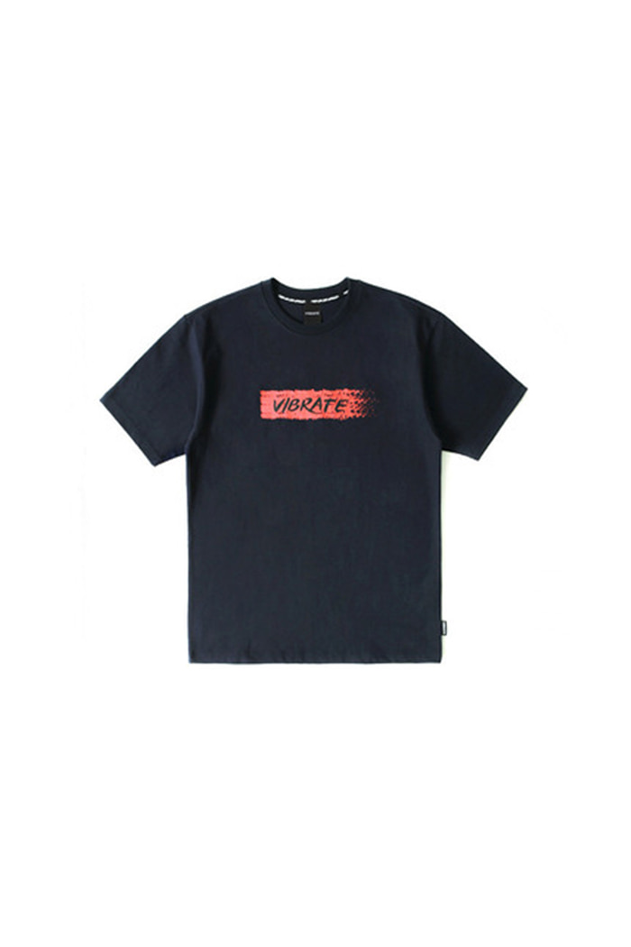 BIT BY BIT T-SHIRT (NAVY)