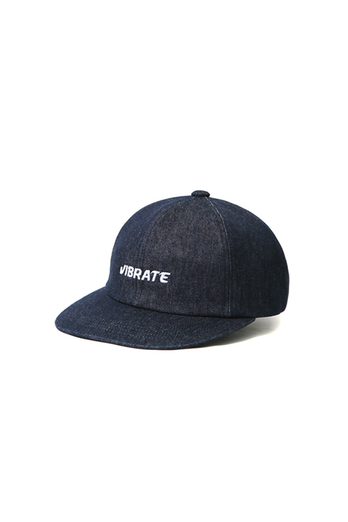RAW STRAP BB CAP (DARK DENIM)
