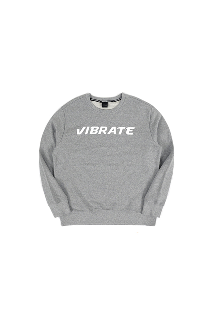 BASIC LOGO SWEAT SHIRT (gray)