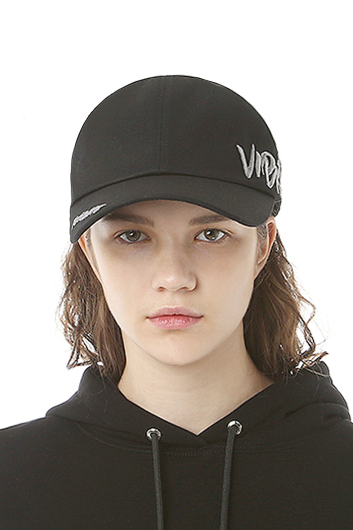 BY THE SIDE BALL CAP (BLACK)