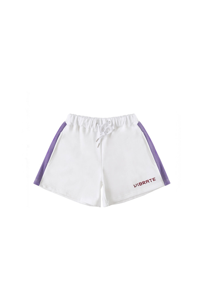 MESH POINT SHORT PANTS (WHITE)