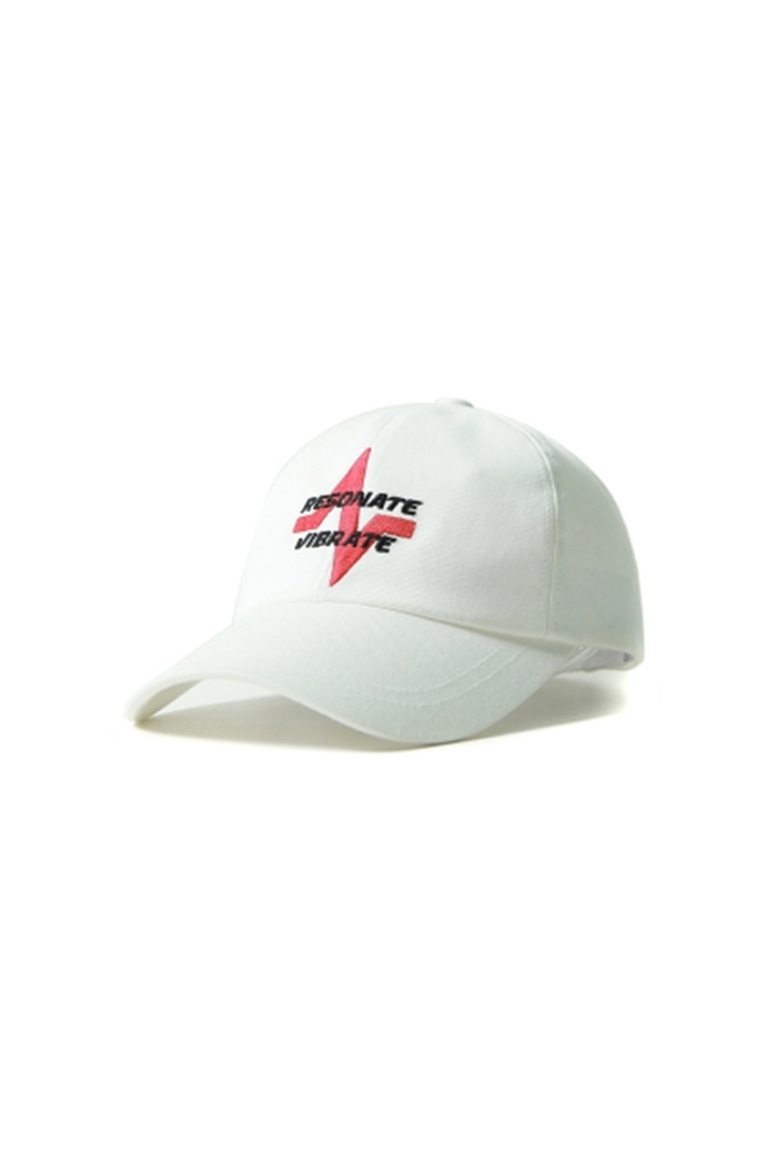 RESONATE BALL CAP (WHITE)