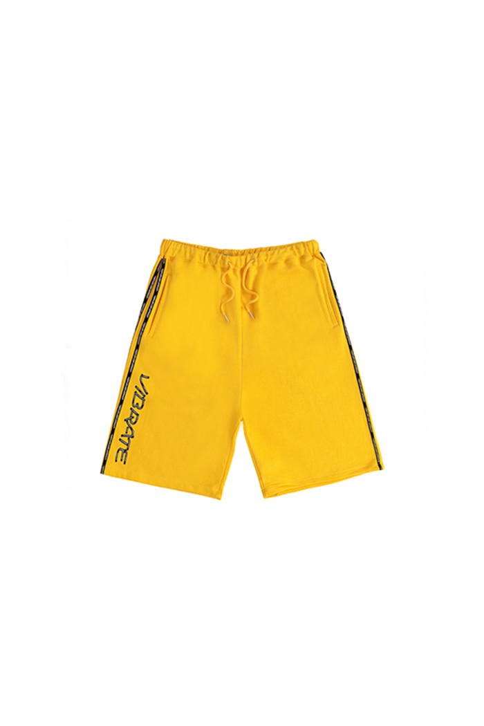 HERRINGBONE TAPE SHORT PANTS (YELLOW)