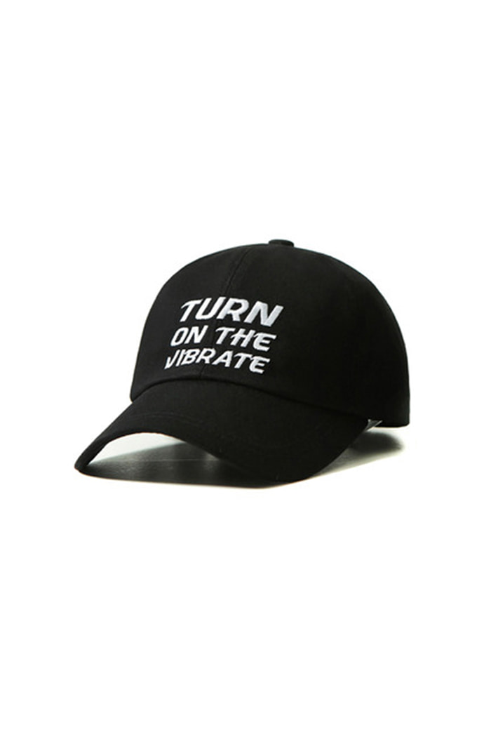 SQUARE BALL CAP (BLACK)