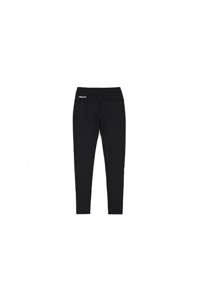 SIDE BASIC LOGO LEGGINGS (BLACK)