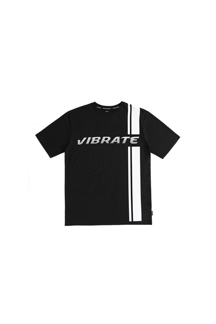 SIDE LINE LOGO T-SHIRT (BLACK)