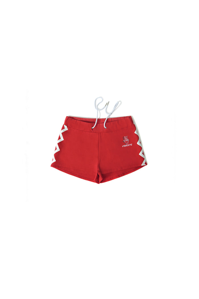 CHEVRON SHORT PANTS (RED)