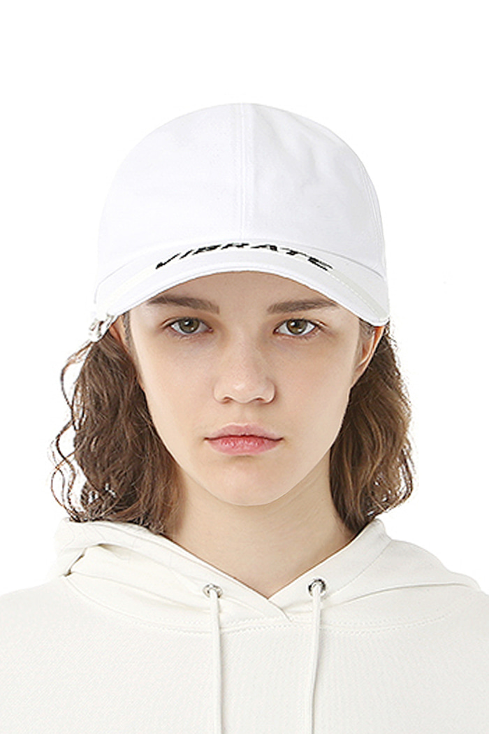 LOOP BALL CAP (WHITE)