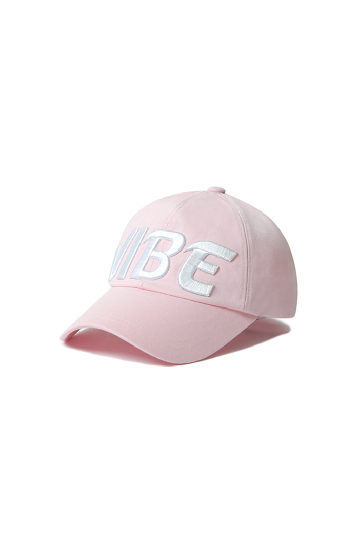 HUGE VIBE BALL CAP (PINK)