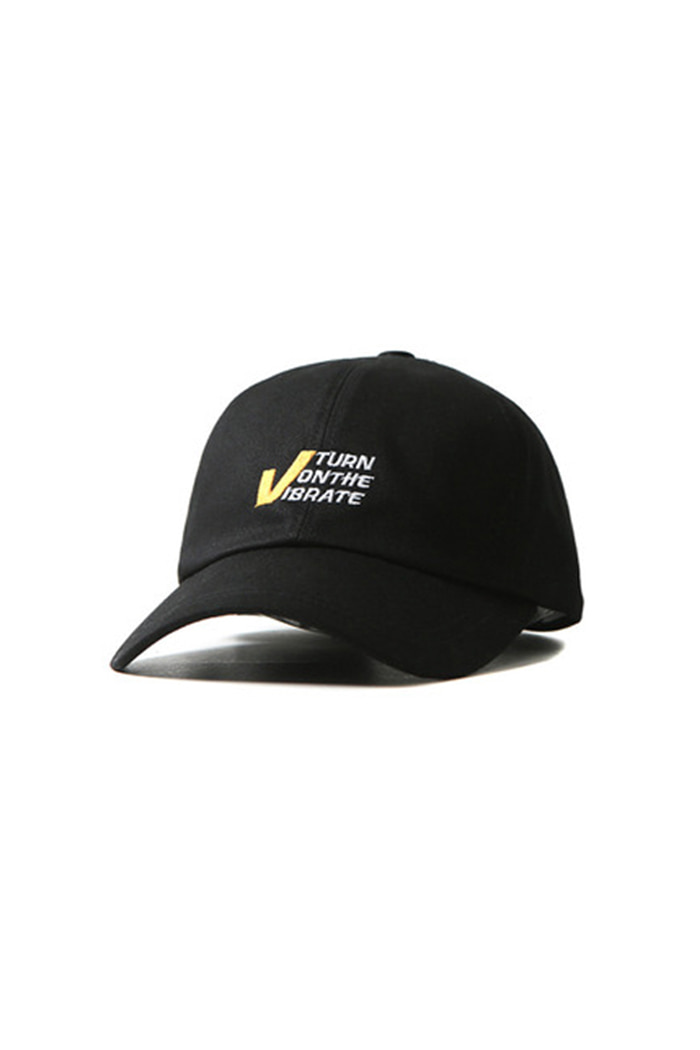 V TURN ON THE BALL CAP (BLACK)