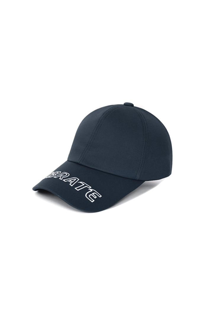 VISOR EMBROIDERY BALL CAP (NAVY)