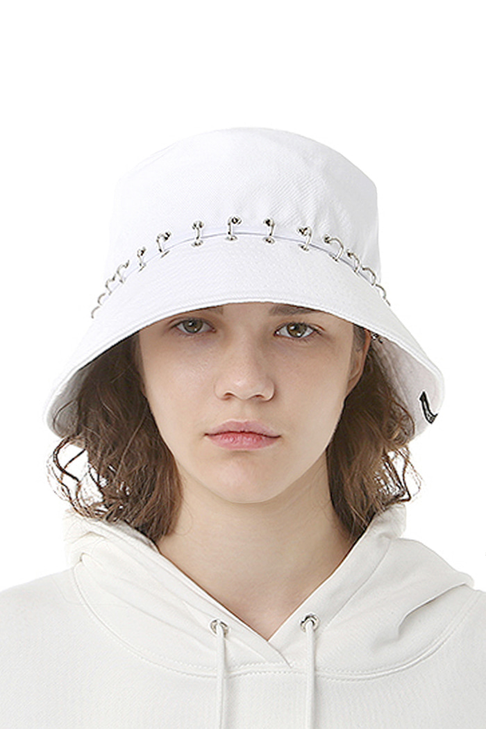 PIERCING DIVISION BUCKET HAT (WHITE)