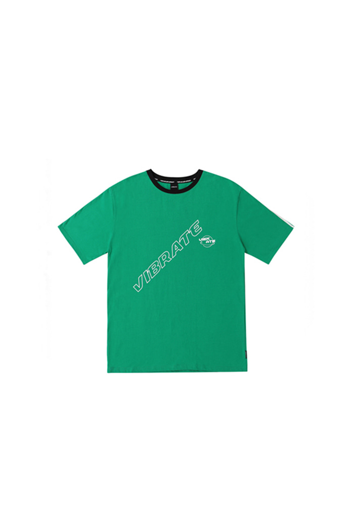 TRIPPER OUTLINE LOGO T-SHIRT (GREEN)