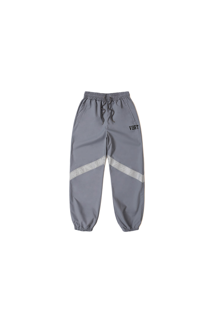 REFLEX TAPE JOGGER PANTS (GRAY)