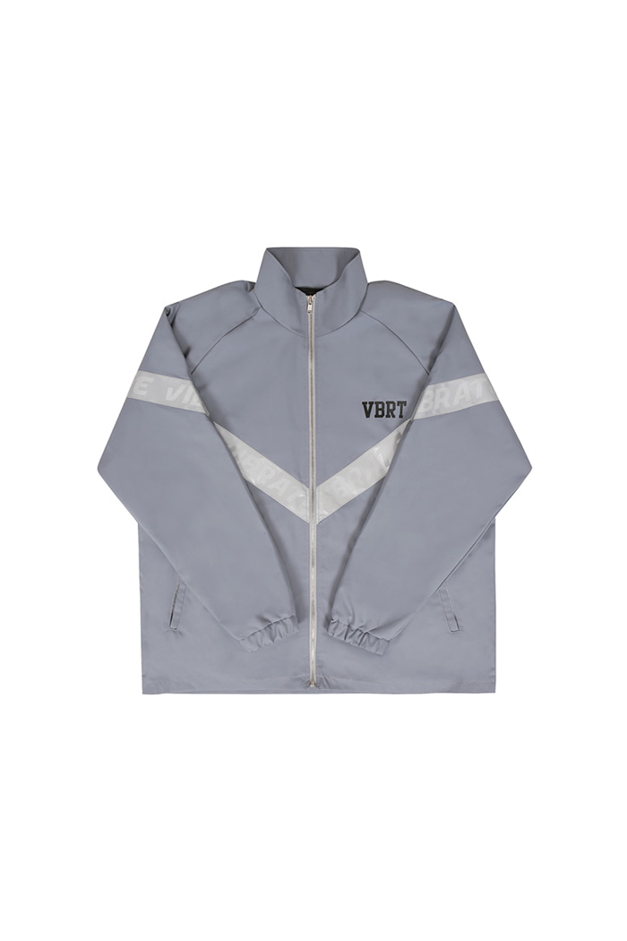 REFLEX TAPE WINDBREAKER (GRAY)