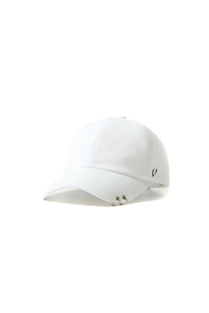 TWIN RING BALL CAP (WHITE)