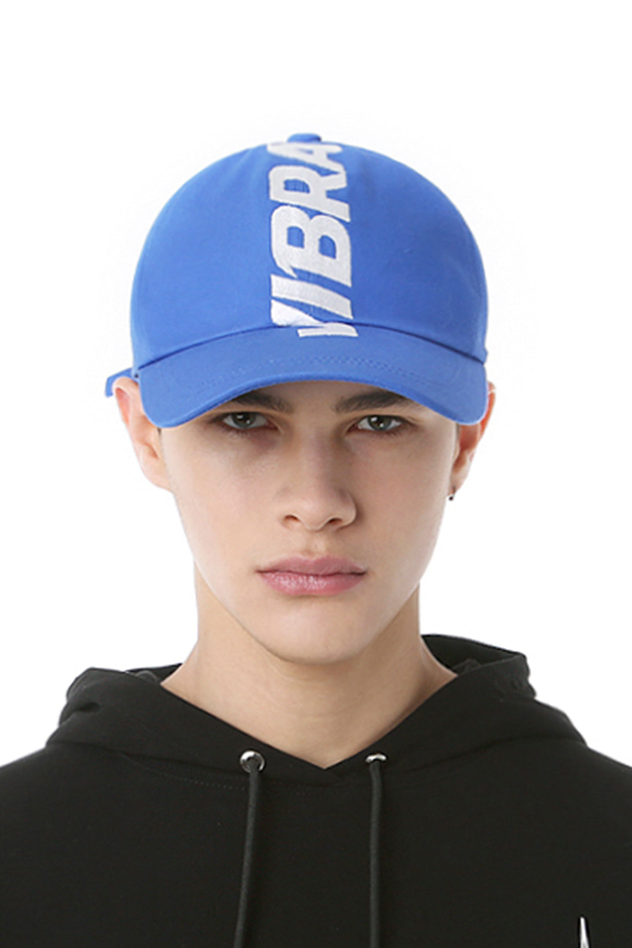 CROWN EMBROIDERY BALL CAP (BLUE)