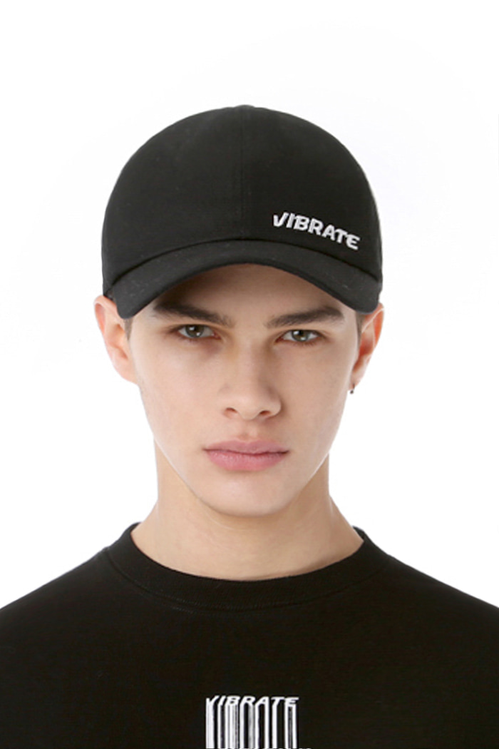 BASIC SIDE LOGO BALL CAP (BLACK)