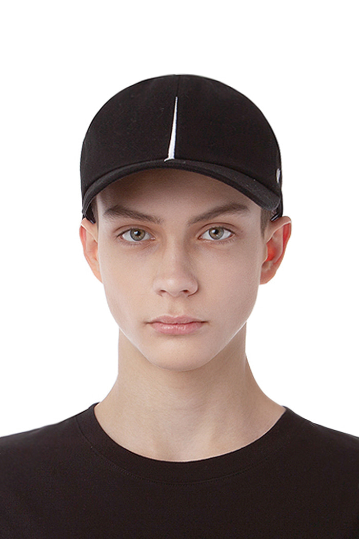 VERTICAL DIVISION BALL CAP (BLACK)