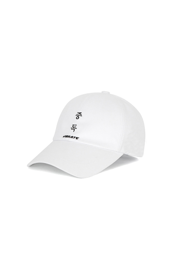 OVERDOSE KR BALL CAP (WHITE)