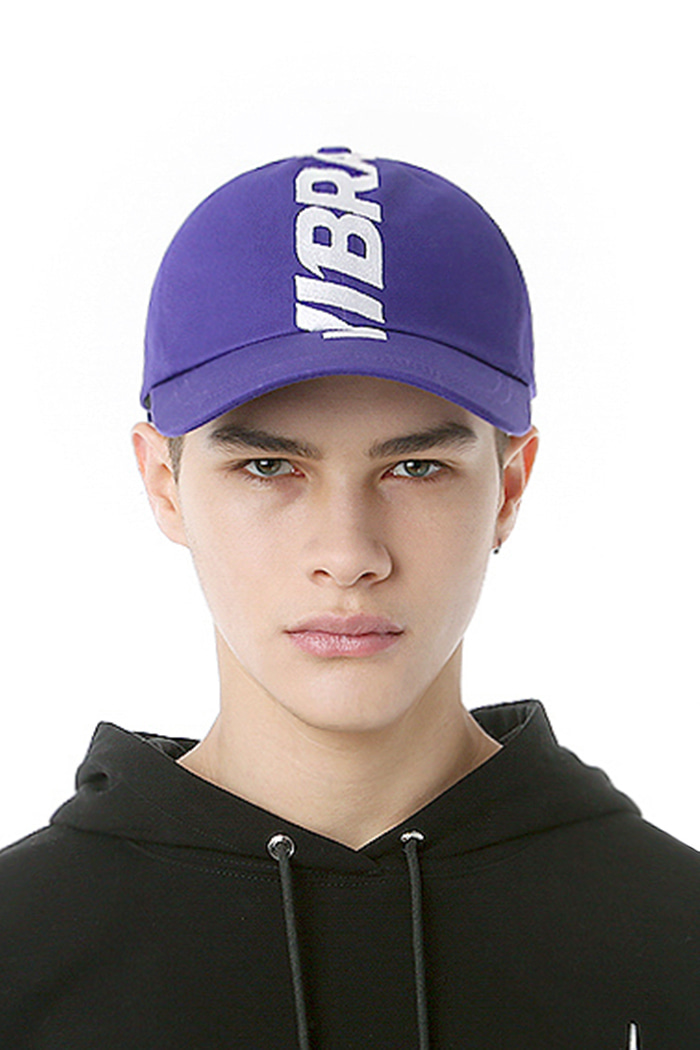 CROWN EMBROIDERY BALL CAP (PURPLE)