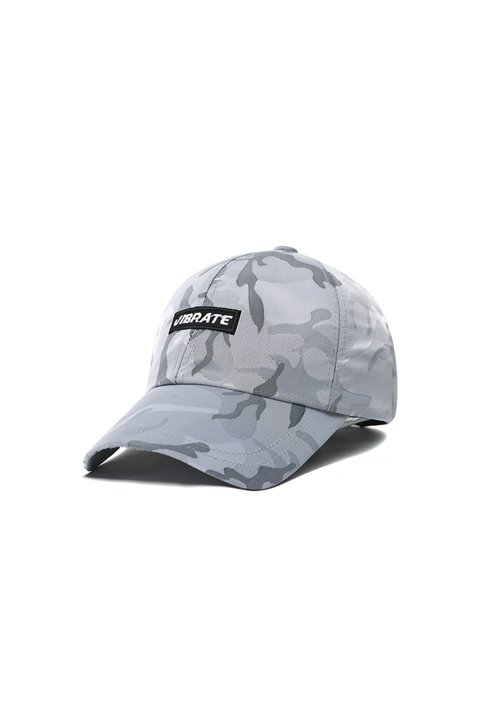 S SIGNATURE CAMO BALL CAP (GRAY)