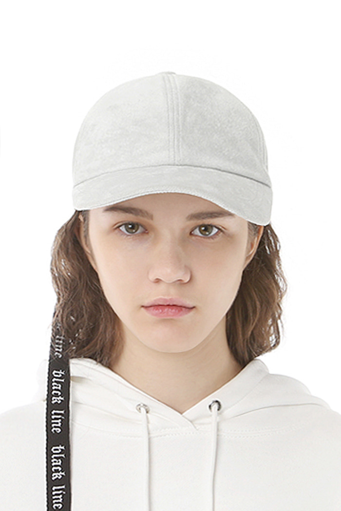 BELTED STRAP BALL CAP (GRAY)