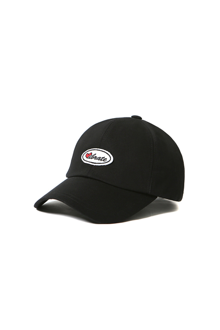 VIBRATEKIDS - LOVE WAFFEN BALL CAP (BLACK)