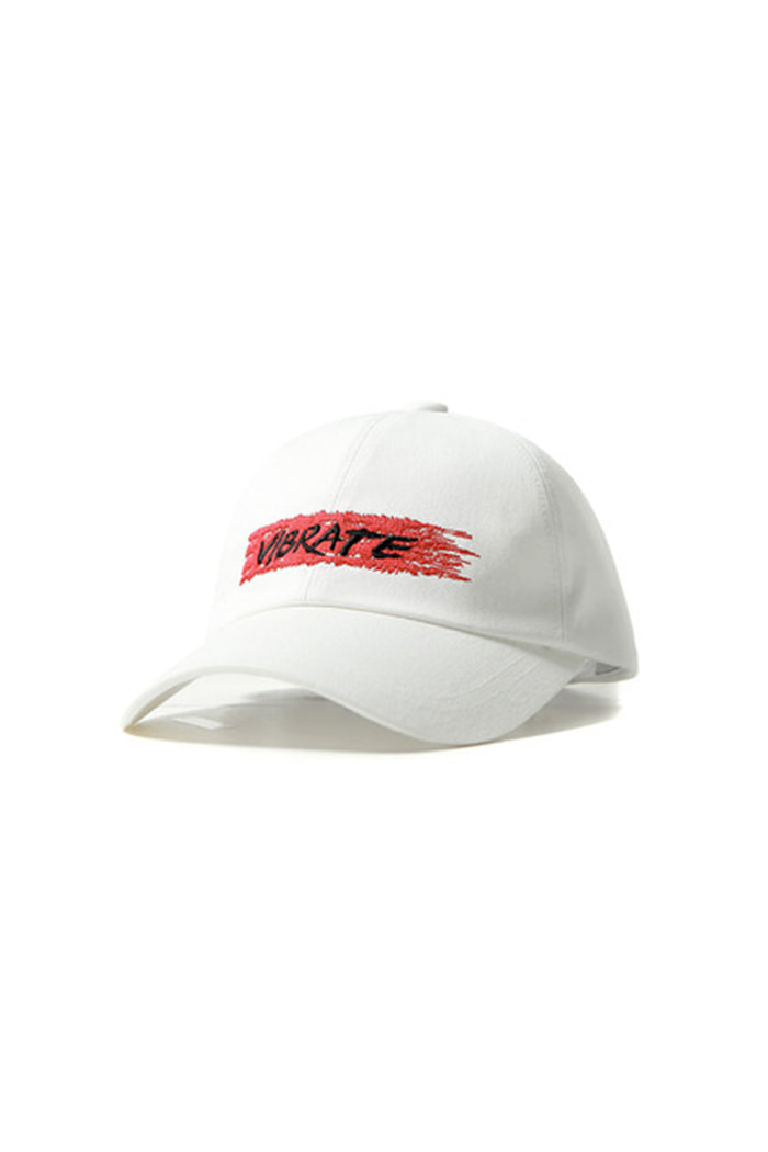 VIBRATEKIDS - BIT BY BIT BALL CAP (WHITE)