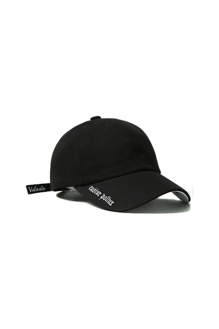 VIBRATEKIDS - DOUBLE SIDE BALL CAP (BLACK)