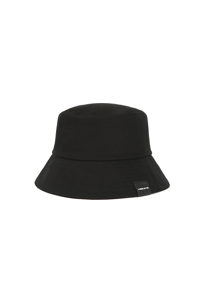 VIBRATEKIDS - REAL COTTON BUCKET HAT (BLACK)