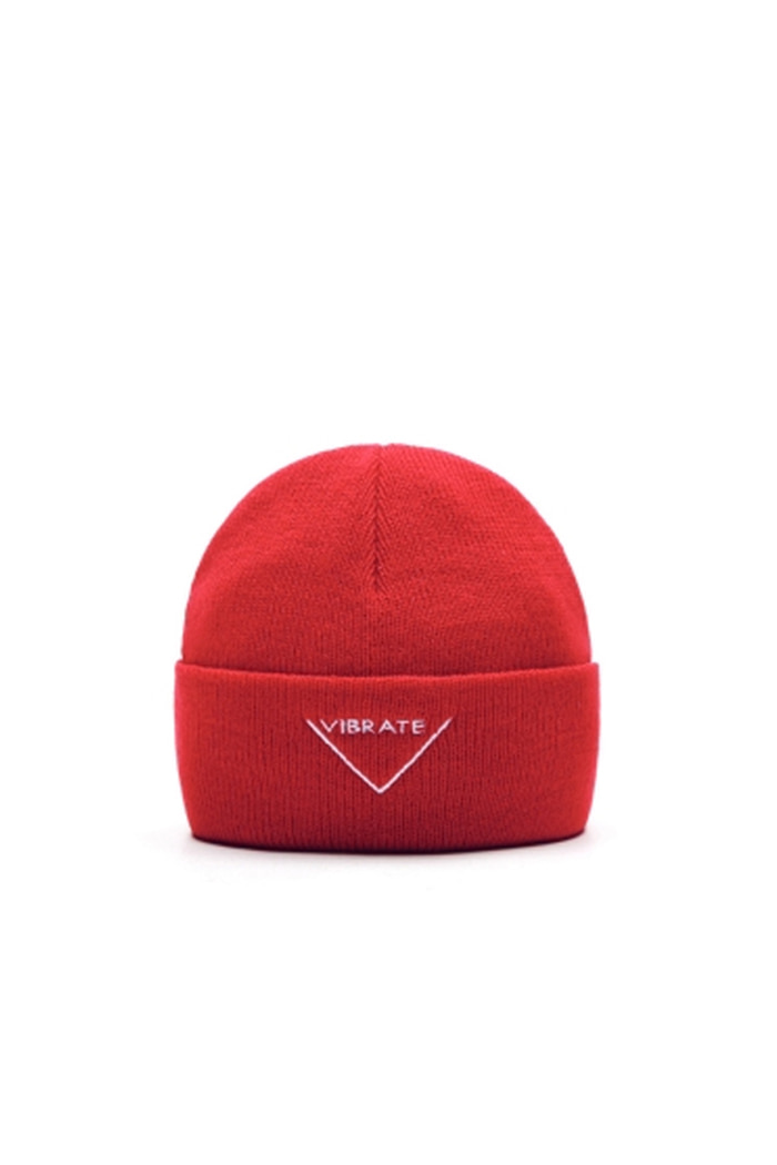 VIBRATEKIDS - BASIC BEANIE NO.2 (RED)