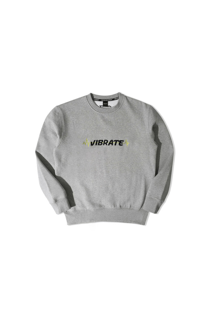VIBRATEKIDS - PULSATION SWEATSHIRTS (GRAY)