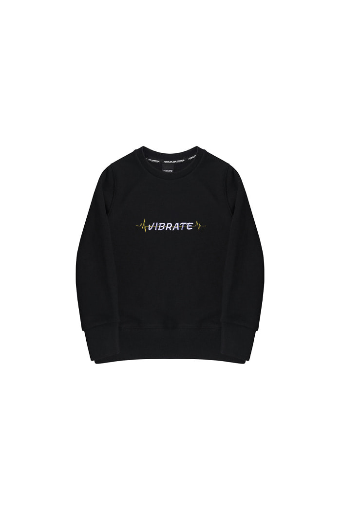 VIBRATEKIDS - PULSATION SWEATSHIRTS (BLACK)