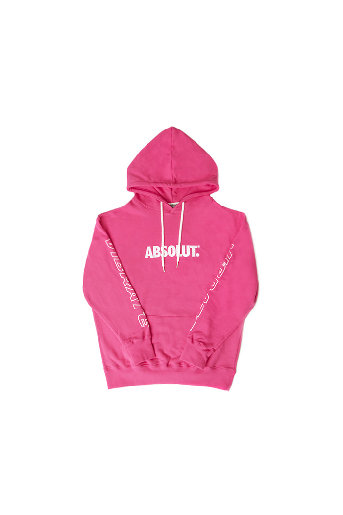 VIBRATE X ABSOLUT HOODIE (PINK)